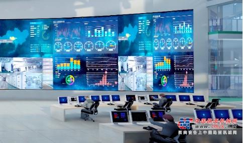 △中联智慧产业城生产指挥中心效果图