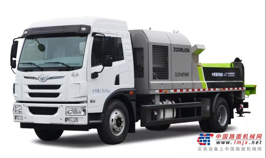 国六车载泵 2019年,中联重科以行业第一的速度,推出了目前市场唯一的