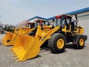 常林955T装载机批量中标苏南某市政公司