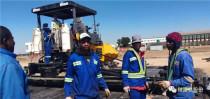 陕建机股份助力津巴布韦-哈拉雷国际机场建设