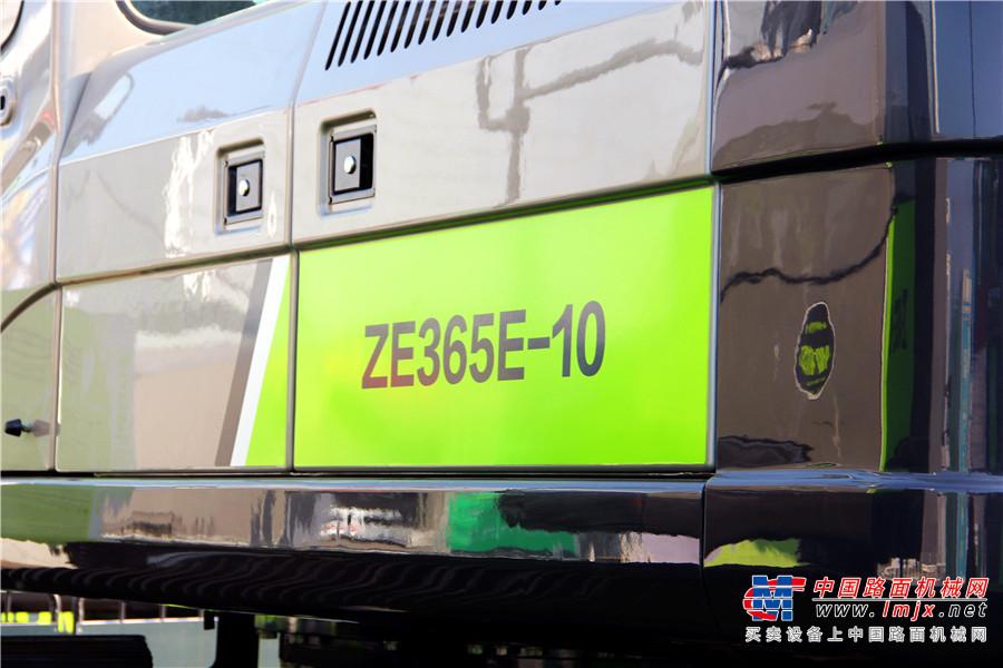中联重科E-10系列新品之ZE365E-10挖掘机