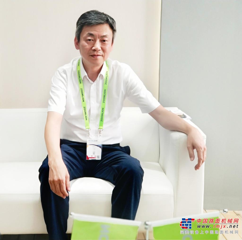 中联重科郭学红:多措并举  行稳致远