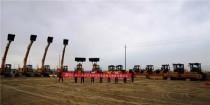 一批厦工成套设备开足马力奔赴新疆,助力阿克苏开展经济建设