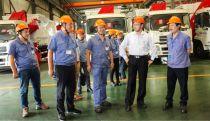 集团公司党委书记、董事长吴培国到常林公司调研指导工作