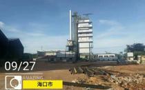 铁拓机械沥青搅拌设备极限生产助力客户关键道路工程项目