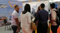铁拓机械亮相第21届印尼建筑工程机械设备及材料展览会
