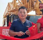 20台徐工起重机批量交付合肥皖能,建设美丽中国