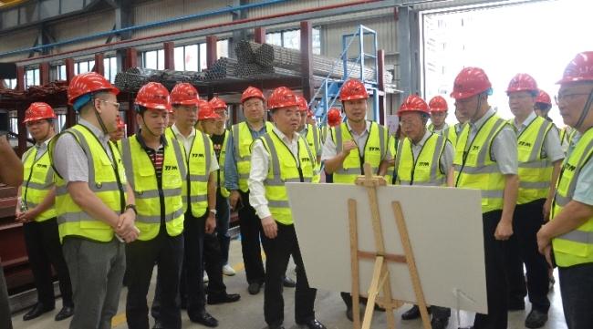 中国工程院调研组到铁拓机械新厂区参观调研