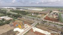 """宝峨FDC挤土桩工法应用20万平米雅加达机场地质改良工程,3台20多年""""高龄"""" BG 14钻机仍高效运行"""