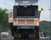 维特根:工地报告   W 195 冷铣刨机 修复 104 国道高效且专业