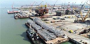 中海福陆重工利勃海尔履带吊监控项目通过验收