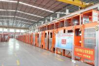 方圆集团专用车辆设备厂精心准备展会样机