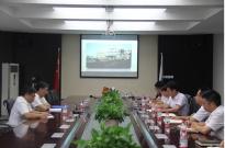 局副总经理张志明到中建机械公司调研指导工作