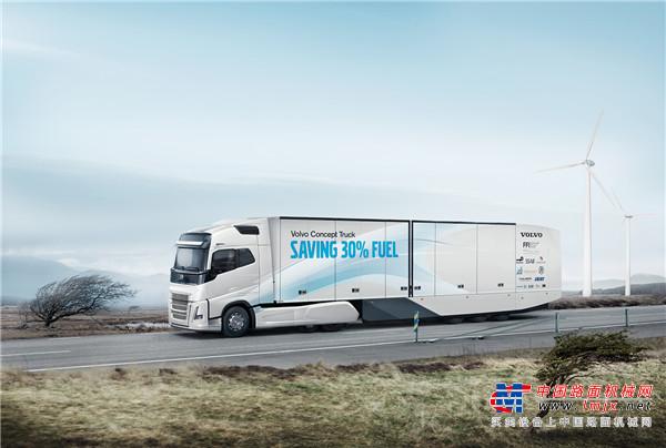 为加速环保进程,沃尔沃卡车正积极探索新型解决方案