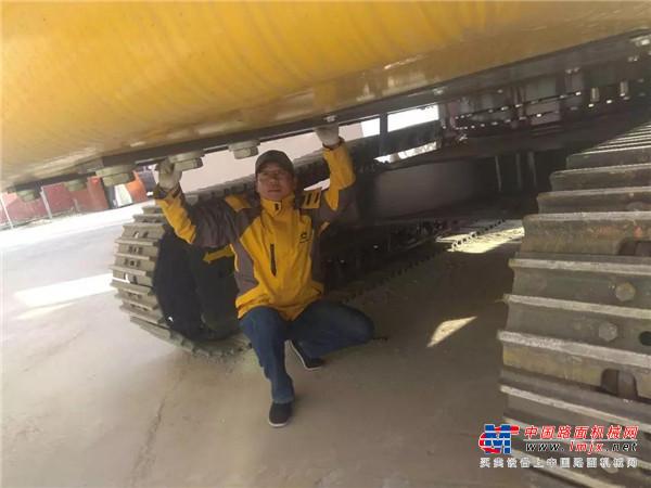 迪尔好员工 肖毅:线路有终 服务无尽