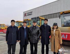 维特根(中国)机械有限公司总裁韦策图一行到访科泰重工