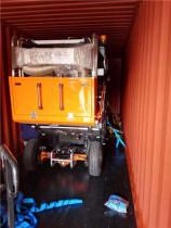 助力印度孟买环卫新城建设,同辉汽车扫路机再次戎装出发