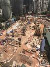 宝峨BG 72钻机配置150m长钻杆,在吉隆坡KLCC中心创下新记录