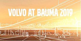 2019德国慕尼黑bauma展:沃尔沃超大展位呈现电气化未来