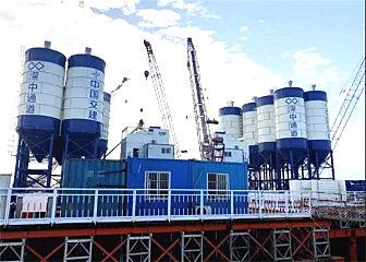 山推混凝土攪拌站讓中國基礎設施建設如虎添翼