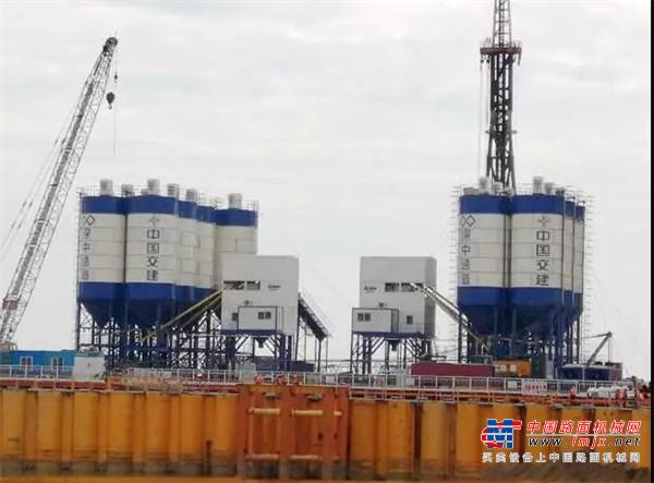 山推混凝土搅拌站让中国基础设施建设如虎添翼