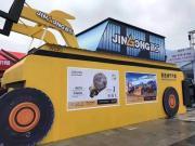 晋工机械携明星产品精彩亮相中国厦门国际石材展览会