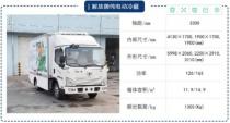 森源:柴油车城内限行的今天,这5款电动冷藏车你选谁?