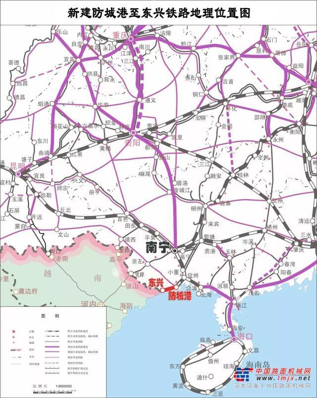 广西又一条时速200公里的铁路开工啦!