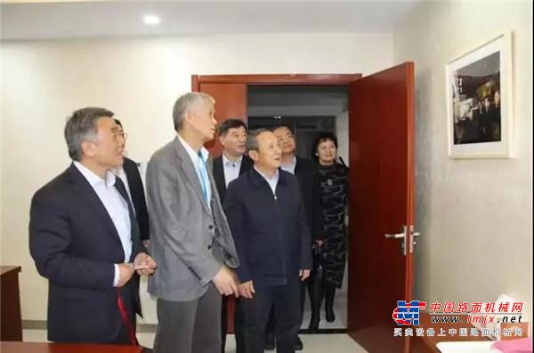 徐工集团王民董事长一行到访中国工程机械工业协会