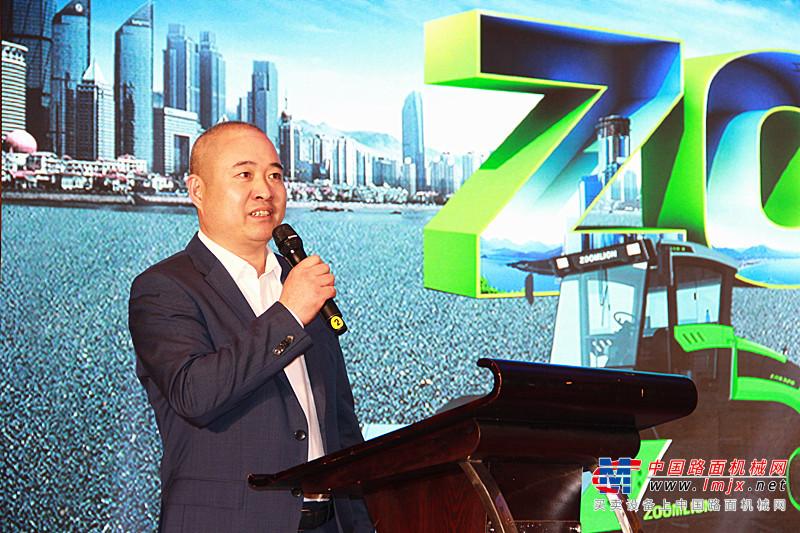 助推淮海经济区发展 中联路机4.0产品热销彭城