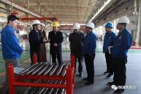 陕建机:四川浦江县政府领导来公司参观考察