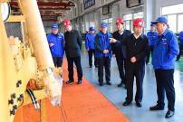 河北宣工:集团总经理彭兆丰到公司调研指导工作