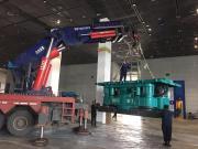 盾安建机携全套全回转钻机进驻第九届基础工程发展论坛