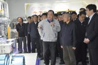 山东省委书记刘家义率全省新旧动能转换现场观摩团到山东临工考察调研