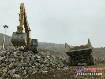 山东临工打造5G远程遥控挖掘机项目