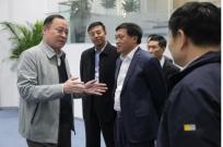 中国民生银行副行长石杰一行到山东临工访问