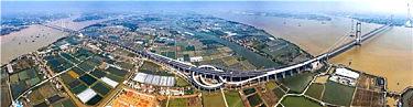 热?#26131;?#36154;粤港澳大湾区又一重要交通枢纽 — 虎门二桥 正式通车!