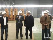 泰安市政协副主席张庆明同志莅临天路重工指导工作
