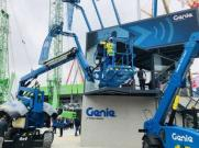 Genie® GS™-4655剪型高空作业平台惊艳亮相2019德国宝马展