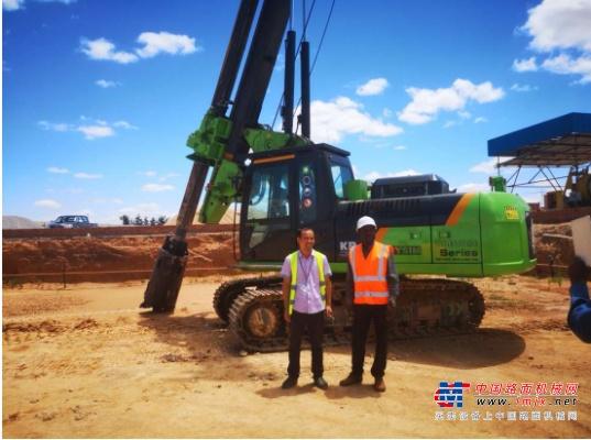 泰信机械KR90C进入非洲市场,打造国际知名品牌更进一步
