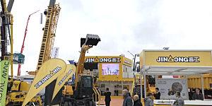 晋工机械携全系列新品亮相2019德国宝马展