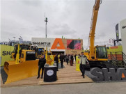 山推精彩亮相2019德国慕尼黑国际工程机械Bauma展