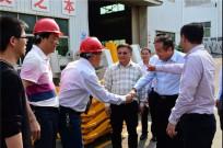 马来西亚拿督(马来西亚晋江社团联合会会长)黄东海一行莅临晋工机械参观考察
