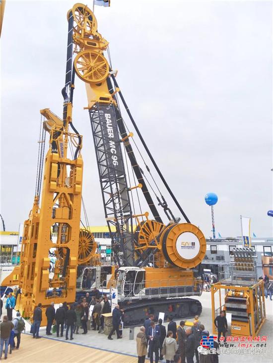 2019年德国宝马展闭幕,宝峨新产品聚焦城市化进程中的基础工程技术