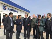 聚焦柳工宝马展 | 中国商务部副部长王炳南等一行拜访柳工
