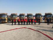 品质动人心 汉马H9旗舰版批量交车仪式在辽宁丹东举行