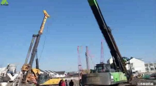 泰信机械KR150A旋挖钻机施工案例