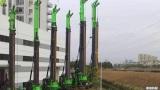 泰信机械KR285C矮版旋挖钻机施工案例