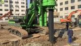泰信机械KR220C旋挖钻机施工案例