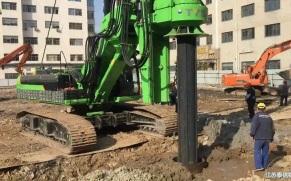 泰信亚搏直播视频appKR220C旋挖钻机施工案例